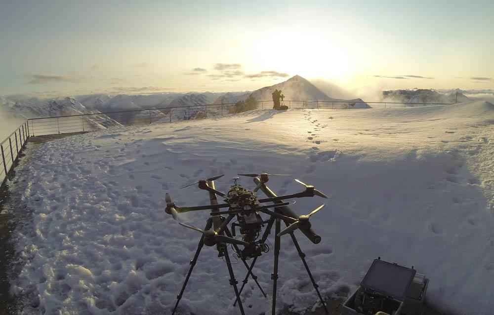 Kamera Systeme: Kamera Drohne L für Sony RX 100 und VR 360 Kamera • WECAMFLY Oliver Jergis