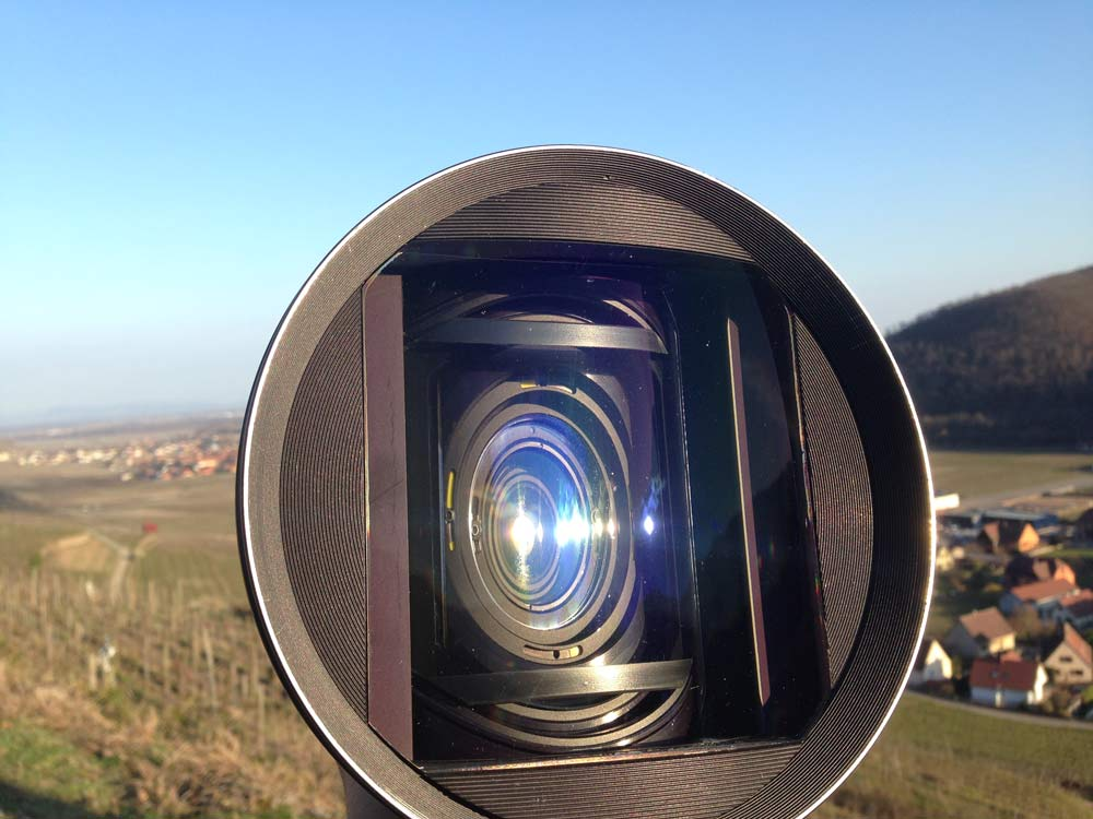 Commercial Kronenbourg 1664 Lens anamorphot