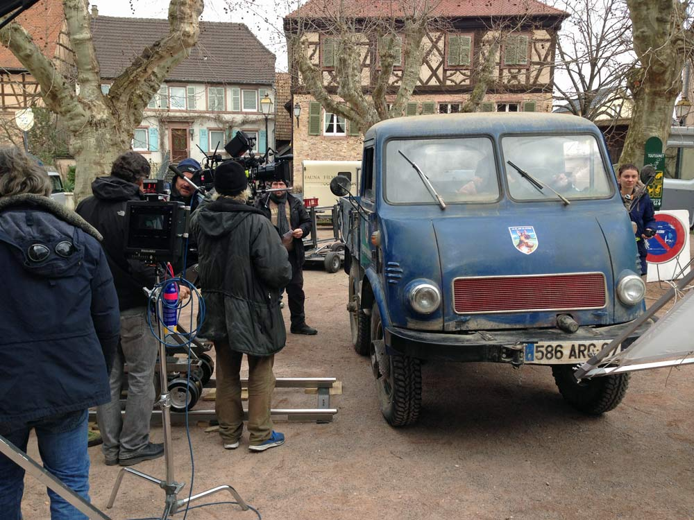 Commercial Kronenbourg 1664 behind the scene