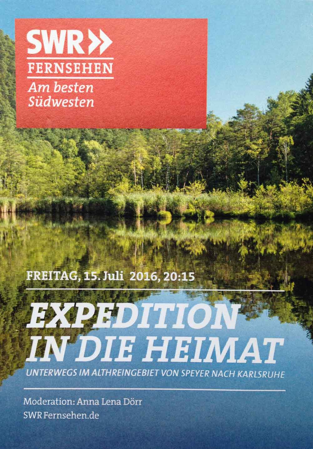 SWR Expedition in die Heimat
