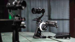 X5R Raw Kamera mit Hand Gimbal OSMO und Follow Focus